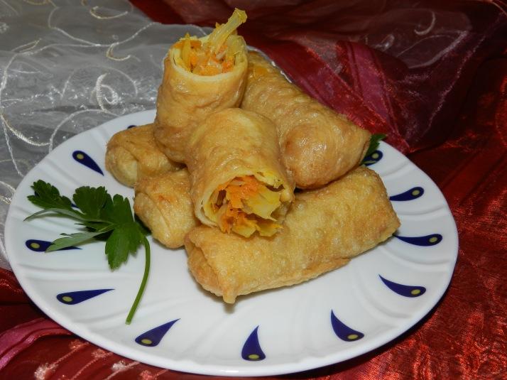 Lumpia - rouleaux de petits légumes à la Javanaise